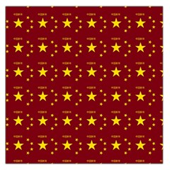 Chinese New Year Pattern Large Satin Scarf (Square)