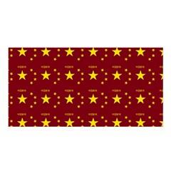 Chinese New Year Pattern Satin Shawl