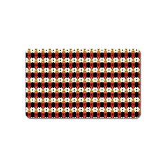 Queen Of Hearts  Hat Pattern King Magnet (Name Card)