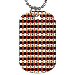 Queen Of Hearts  Hat Pattern King Dog Tag (Two Sides)