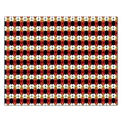 Queen Of Hearts  Hat Pattern King Rectangular Jigsaw Puzzl