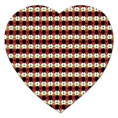 Queen Of Hearts  Hat Pattern King Jigsaw Puzzle (Heart)