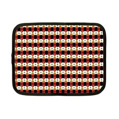 Queen Of Hearts  Hat Pattern King Netbook Case (Small)