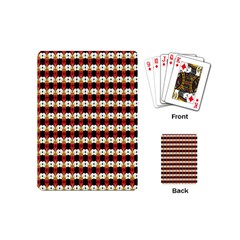 Queen Of Hearts  Hat Pattern King Playing Cards (Mini)