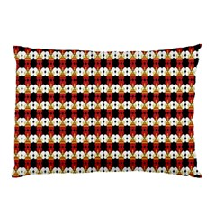 Queen Of Hearts  Hat Pattern King Pillow Case (Two Sides)