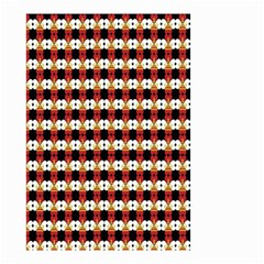 Queen Of Hearts  Hat Pattern King Small Garden Flag (Two Sides)