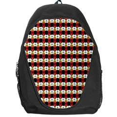 Queen Of Hearts  Hat Pattern King Backpack Bag