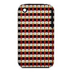 Queen Of Hearts  Hat Pattern King iPhone 3S/3GS
