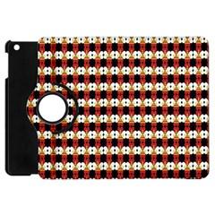Queen Of Hearts  Hat Pattern King Apple iPad Mini Flip 360 Case