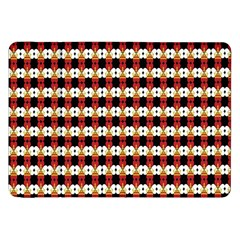 Queen Of Hearts  Hat Pattern King Samsung Galaxy Tab 8.9  P7300 Flip Case