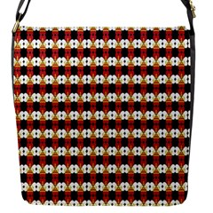 Queen Of Hearts  Hat Pattern King Flap Messenger Bag (S)