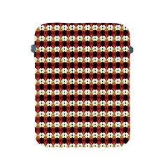Queen Of Hearts  Hat Pattern King Apple iPad 2/3/4 Protective Soft Cases
