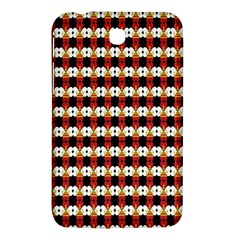 Queen Of Hearts  Hat Pattern King Samsung Galaxy Tab 3 (7 ) P3200 Hardshell Case