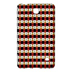 Queen Of Hearts  Hat Pattern King Samsung Galaxy Tab 4 (8 ) Hardshell Case