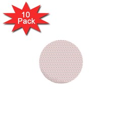 Rose Gold Line 1  Mini Buttons (10 pack)