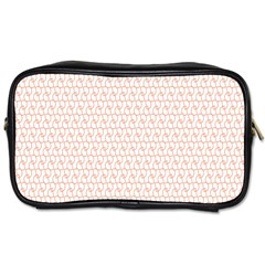 Rose Gold Line Toiletries Bags 2-Side