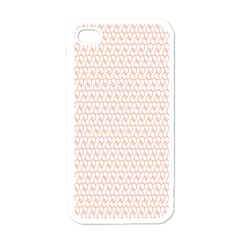 Rose Gold Line Apple iPhone 4 Case (White)