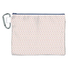 Rose Gold Line Canvas Cosmetic Bag (XXL)