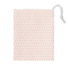 Rose Gold Line Drawstring Pouches (Extra Large)