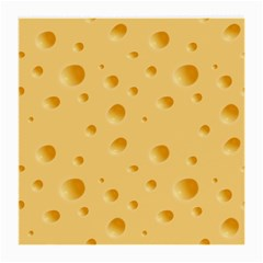 Seamless Cheese Pattern Medium Glasses Cloth (2-Side)