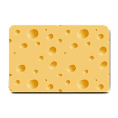 Seamless Cheese Pattern Small Doormat