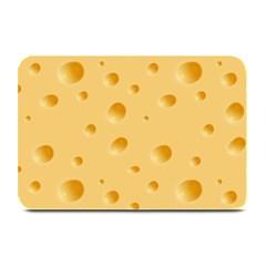 Seamless Cheese Pattern Plate Mats
