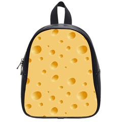 Seamless Cheese Pattern School Bags (Small)