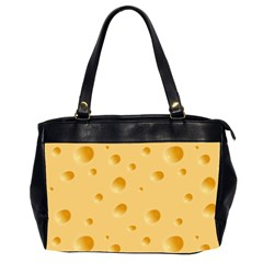 Seamless Cheese Pattern Office Handbags (2 Sides)