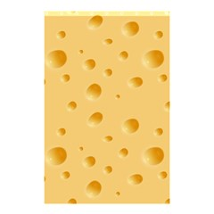 Seamless Cheese Pattern Shower Curtain 48  x 72  (Small)
