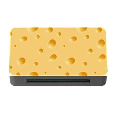 Seamless Cheese Pattern Memory Card Reader with CF