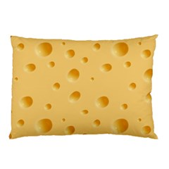 Seamless Cheese Pattern Pillow Case (Two Sides)