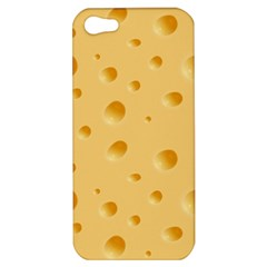 Seamless Cheese Pattern Apple iPhone 5 Hardshell Case