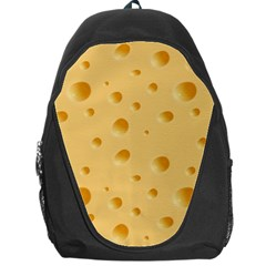 Seamless Cheese Pattern Backpack Bag