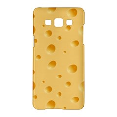 Seamless Cheese Pattern Samsung Galaxy A5 Hardshell Case