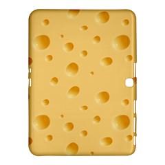 Seamless Cheese Pattern Samsung Galaxy Tab 4 (10.1 ) Hardshell Case