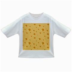 Seamless Cheese Pattern Infant/Toddler T-Shirts
