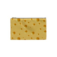Seamless Cheese Pattern Cosmetic Bag (Small)
