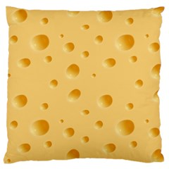 Seamless Cheese Pattern Large Cushion Case (One Side)