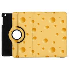 Seamless Cheese Pattern Apple iPad Mini Flip 360 Case