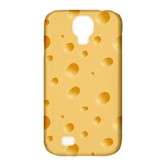 Seamless Cheese Pattern Samsung Galaxy S4 Classic Hardshell Case (PC+Silicone)