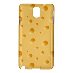 Seamless Cheese Pattern Samsung Galaxy Note 3 N9005 Hardshell Case