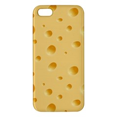 Seamless Cheese Pattern iPhone 5S/ SE Premium Hardshell Case