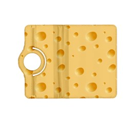 Seamless Cheese Pattern Kindle Fire HD (2013) Flip 360 Case