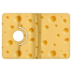 Seamless Cheese Pattern Kindle Fire HDX Flip 360 Case