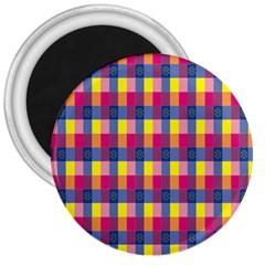 Sheath Malay Sarong Motif 3  Magnets
