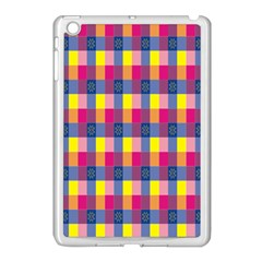 Sheath Malay Sarong Motif Apple iPad Mini Case (White)