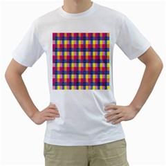 Sheath Malay Sarong Motif Men s T-Shirt (White)