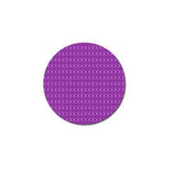 Surface Purple Patterns Lines Circle Golf Ball Marker