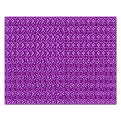 Surface Purple Patterns Lines Circle Rectangular Jigsaw Puzzl