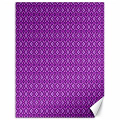 Surface Purple Patterns Lines Circle Canvas 18  x 24